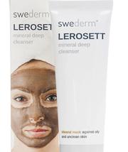 Маска для лица минеральная очищающая LEROSETT Swederm