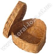 Шкатулка  плетена